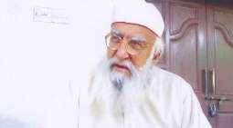 وفاة الداعیة و الواعظ الباکستاني الشیخ حمیدالدین سیالوي عن عمر ناھز 84 عاما
