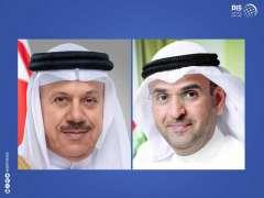 الحجرف يبحث مع وزير خارجية البحرين قضايا التعاون الخليجي المشترك