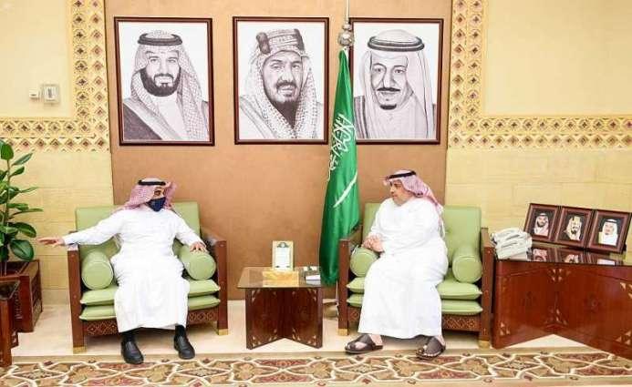 وكيل إمارة الرياض يستقبل محافظ المؤسسة العامة للتدريب ...
