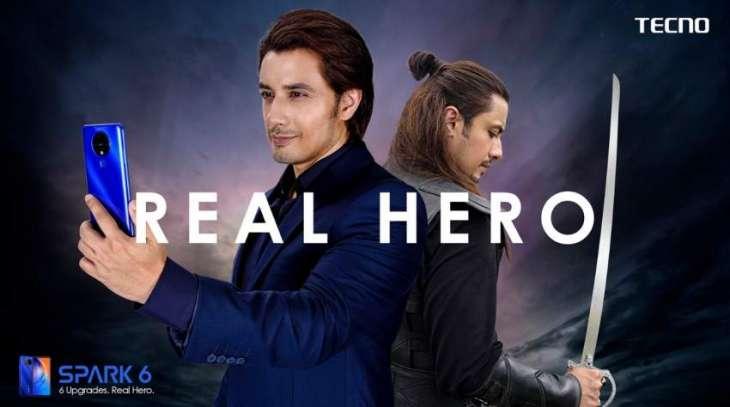 """Casting of Ali Zafar for TECNO's """"Real Hero"""" floods social media"""