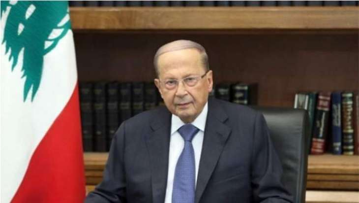 Lebanese President Gives Russian Ambassador Honorable Award to Mark End of His Mission