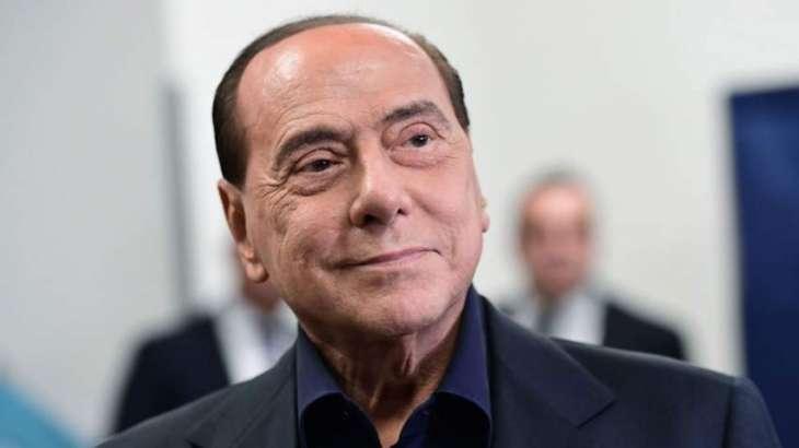 Berlusconi Leaves Hospital in Milan After Coronavirus Treatment