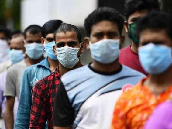 """الهند تسجل أكثر من 96 ألف إصابة جديدة بـ """" كورونا """""""