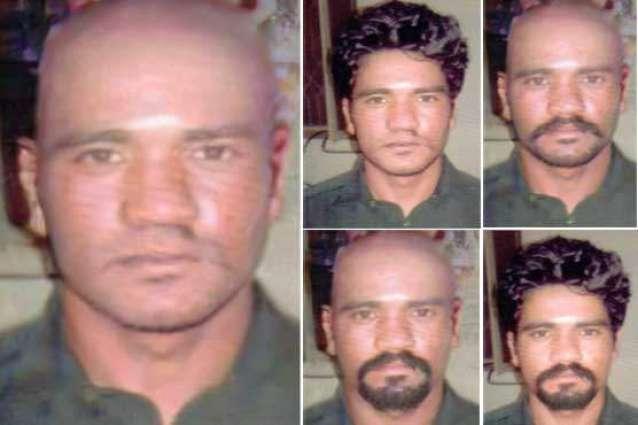 Lahore Motorway-rape case: Six sketches of main suspect Abid Ali released