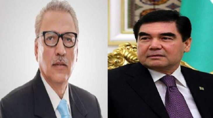 رئیس باکستان یتلقی اتصالا ھاتفیا من نظیرہ رئیس ترکمانستان قربانقلی بردی محمدوف