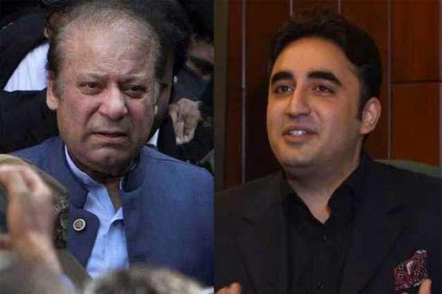 Nawaz Sharif wishes happy birthday to PPP Chairman Bilawal Bhutto Zardari