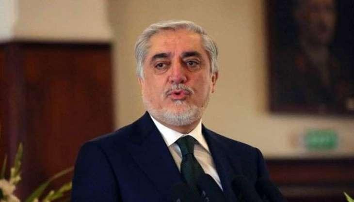 Afghanistan's Abdullah Says Negotiators in Doha Must Use 'Language of Peace'