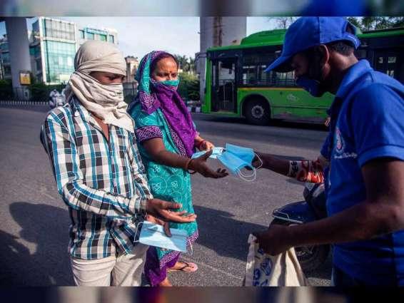 """1053 حالة وفاة جديدة بـ """" كورونا """" في الهند خلال 24 ساعة"""
