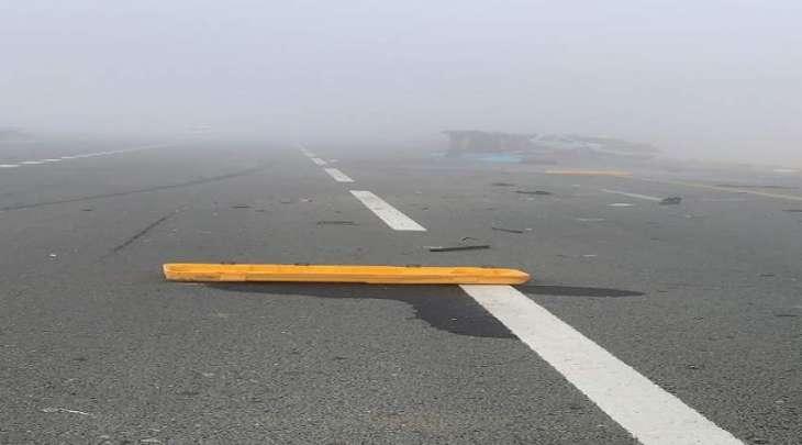 3 وفيات بحادث بين حافلتين  على طريق الشاحنات