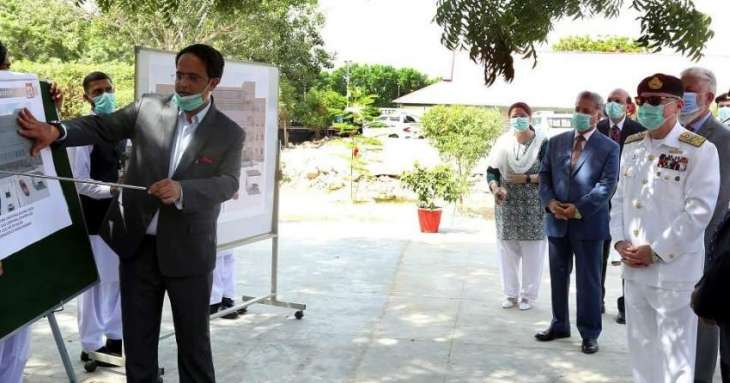 Chief Of The Naval Staff Laid Foundation For Health Sciences Complex At Bahria University Medical &Dental College Karachi
