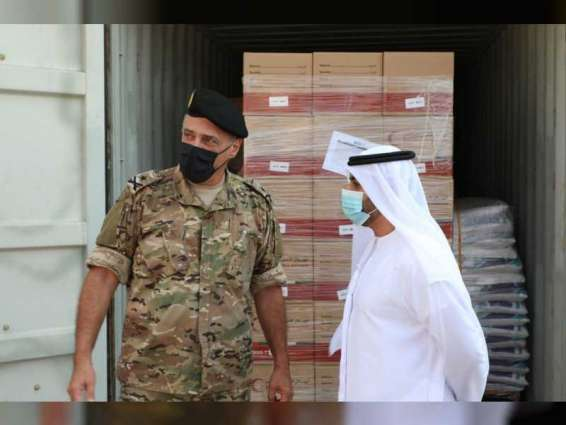 Emirati aid ship arrives in Beirut