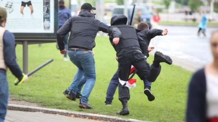 Several Dozen Detained in Minsk at Unsanctioned Gatherings - Interior Ministry of Belarus