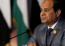 Egypt's Sisi Meets New Kuwaiti Emir, Extends Condolences Over Former Leader's Death