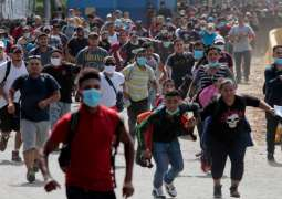Red Cross Says Assisting Hundreds of US-Bound Migrants Crossing From Honduras to Guatemala