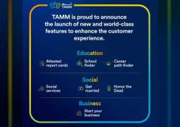 TAMM enhances customer experience by introducing new digital features for users
