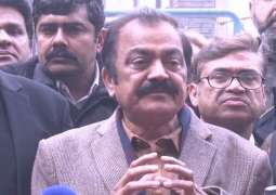 Gujranwala rally against incumbent incompetent govt will be decisive , says Rana Sana Ullah