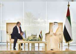 Saqr Ghobash receives ambassadors of Greece, India, Luxembourg, Mozambique, Albania