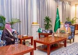 سمو أمير منطقة الجوف يستقبل رئيس وأعضاء المجلس البلدية لأمانة المنطقة