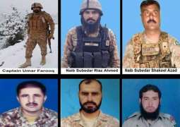 Pakistan Army captain was among six martyred in terrorists attack in North Waziristan