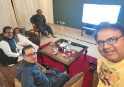Fawad Chaudhary equates PDM's first show with cricket highlights