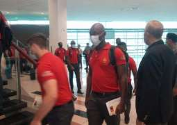 Zimbabwe team arrives in Islamabad today