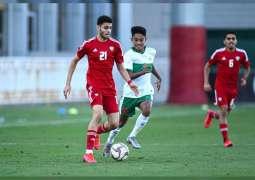 """منتخب ناشئي الكرة يفوز على نظيره الإندونيسي في """"الودية"""" الأولى"""