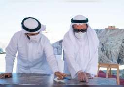 Sharjah Ruler visits Al Suhub Rest House project in Khor Fakkan