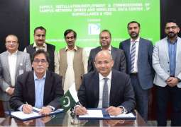 PTCL awarded turnkey ICT contract for the enablement of smart campus at PAF-IAST