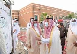سمو أمير جازان يدشن مشروعات تنموية بمحافظة بيش بأكثر من ٤١ مليون ريال