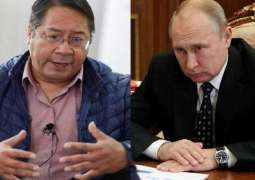 Bolivia's New President Arce Wants to Meet Putin as Soon as Possible