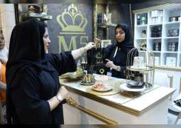 Emirati families market their products in 'Al Sanaa 12' pavilion at Global Village