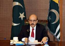 AJK President urges world to save Kashmiris from total annihilation