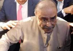 Thatta Water Supply reference: Zardari was exempted from personal appearance in courts
