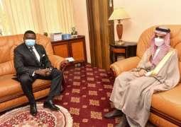 سمو وزير الخارجية يلتقي وزير الدولة أمين عام ديوان الرئاسة الكاميرونية