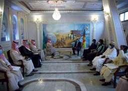 سمو وزير الخارجية يلتقي وزير العلاقات الخارجية لجمهورية الكاميرون