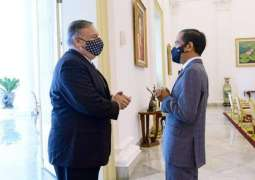 Pompeo, Indonesian President Discuss Maritime Security in Indo-Pacific - State Dept.