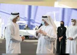 """خالد بن محمد بن زايد يلتقي الدفعة الأولى من المواهب الإماراتية المشاركة في برنامج """"NexTech"""" الجديد"""