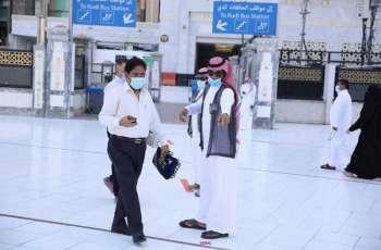 4 مسارات في ساحات المسجد الحرام لاستقبال المعتمرين