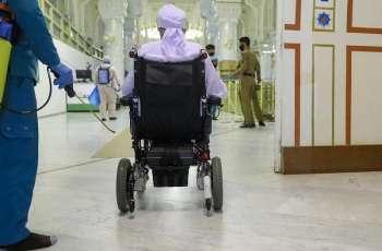 رئاسة شئون الحرمين تخصص مصلى ومداخل للأشخاص ذوي الإعاقة بالمسجد الحرام