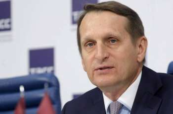 Russia's Foreign Intelligence Chief Says US Preparing 'Revolutionary Scenario' for Moldova