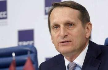 Russia's Foreign Intelligence Chief Says US Preparing 'Revolutionary Scenario' for Moldova