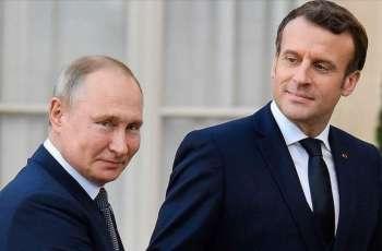Putin, Macron Discuss Karabakh Conflict - Kremlin