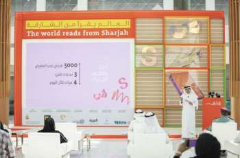 1,024 publishers, 60 cultural figures at 39th Sharjah International Book Fair themed 'The World Reads from Sharjah'