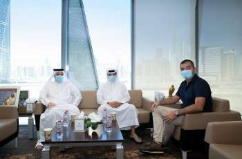 Dubai Sports Council and UEFA's Director of National Associations discuss mutual cooperation