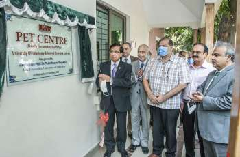 Newly-renovated, extended building of UVAS Pet Centre inaugurated