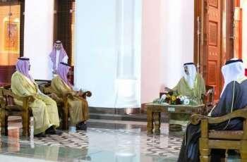 ملك البحرين يستقبل سمو وزير الخارجية