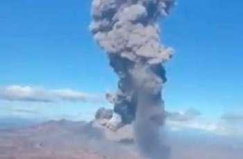 Ebeko Volcano on Kuril Islands Spews Ash 3 Miles Into Sky - Response Team