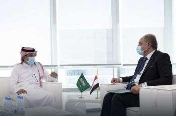 نائب وزير الموارد البشرية يلتقي السفير المصري لدى المملكة