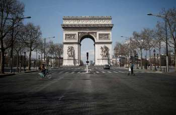 Area Around Arc de Triomphe in Paris Evacuated Due to Bomb Report - Police