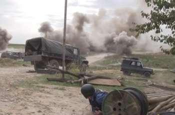 Karabakh Emergency Service Says 1 Dead, 2 injured in Shusha After Smerch Strike